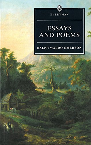 Essays and poems paperback book