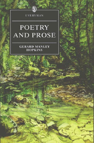 Poetry and Prose (Everyman's Library): Hopkins, Gerard Manley
