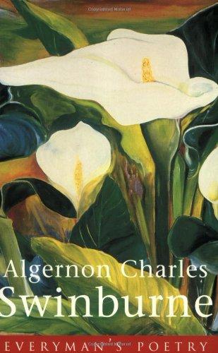 9780460878715: Algernon Swinburne Eman Poet Lib #39 (Everyman Poetry)