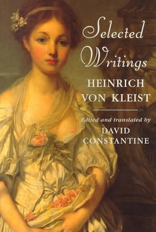9780460879514: Heinrich von Kleist: Selected Writings