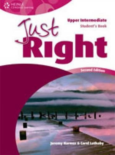 9780462000244: Just Right Upper Intermediate: Workbook with Key and Audio CD