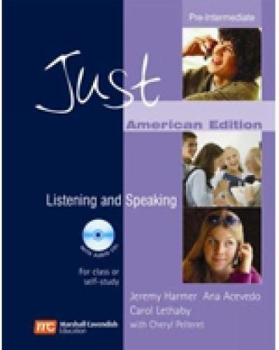9780462000466: Just Listening and Speaking Pre-Intermediate (AME) (Just Skills Series)