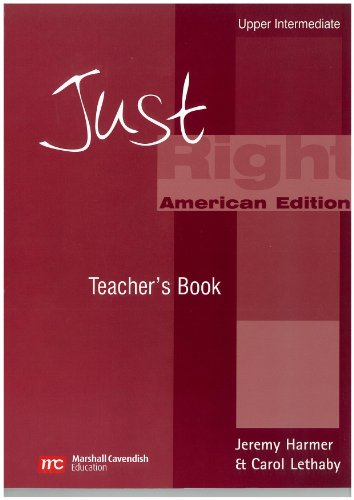 9780462004341: Just Right Upp Int Teacher Bk a Ame