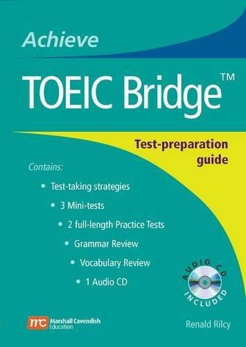 Achieve TOEIC Bridge with Audio CD: Test-Preparation: Rilcy, Renald