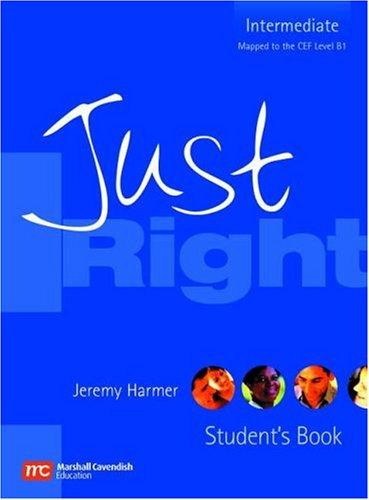 9780462007199: Just right. Intermediate. Student's book. Per le Scuole superiori