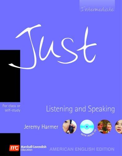 9780462007274: Just Listening And Speaking Intermediate: Intermediate