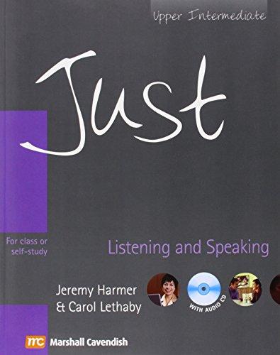 9780462007465: Just Listening & Speaking, Upper Intermediate Level, British English Edition