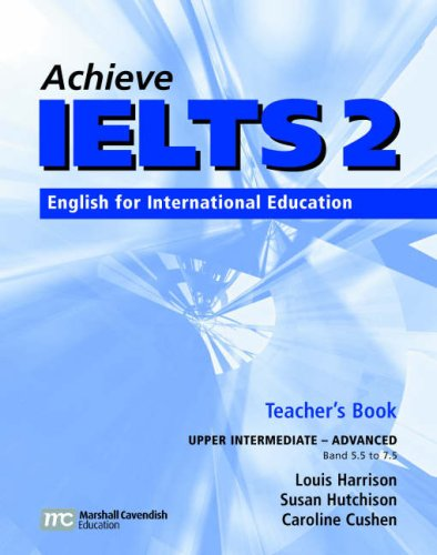 9780462007533: Achieve IELTS Teacher's Book: Upper Intermediate-advanced (band 5.5 - 7.5): English for International Education