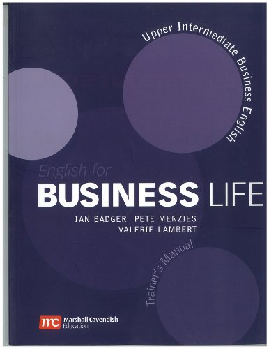 9780462007694: English for Business Life Trainer's Manual: Upper Intermediate Level