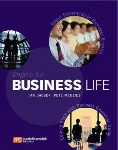 English for Business Life Upper-Intermediate: Audio CD (9780462007700) by Ian Badger; Pete Menzies