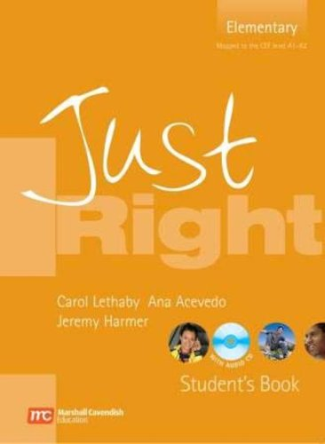 9780462007786: Just right. Elementary. Student's book. Con CD Audio. Per le Scuole superiori: Elementary Level British English Version (Just Right Course)