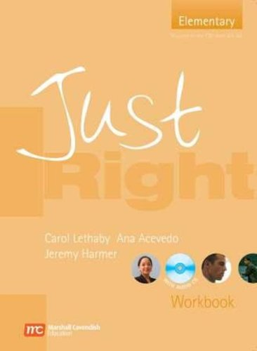 9780462007809: Just Right Elementary - Workbook without Answer Key: Elementary British English Version (Just Right Course)