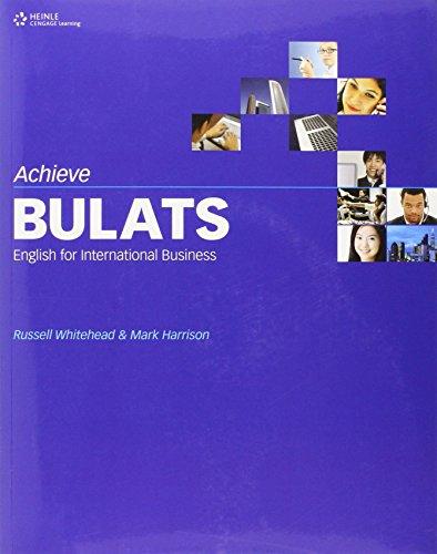 9780462007830: Achieve Bulats - English For International Business