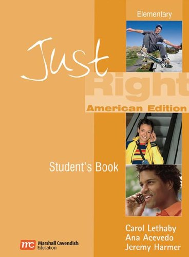 9780462007946: Just Right Elementary (Just Right (American English))