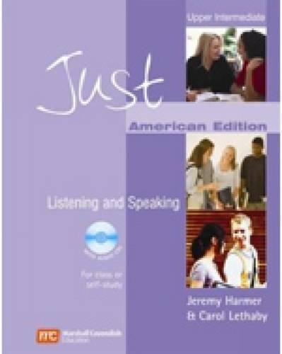9780462008226: Just Listening & Speaking, Upper Intermediate Level, American English Edition