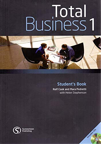 9780462098616: Total business. Student's book. Con CD Audio. Per le Scuole superiori: 1