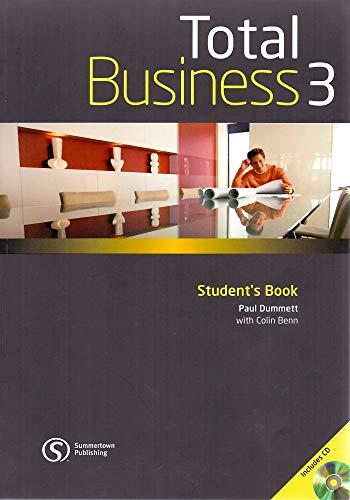 9780462098692: Total business. Student's book. Con CD Audio. Per le Scuole superiori: 3