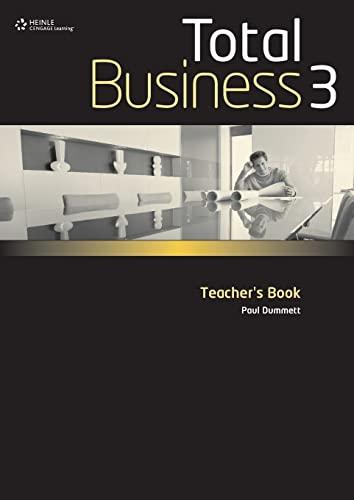 9780462098715: Total Business Teacher Book Upper