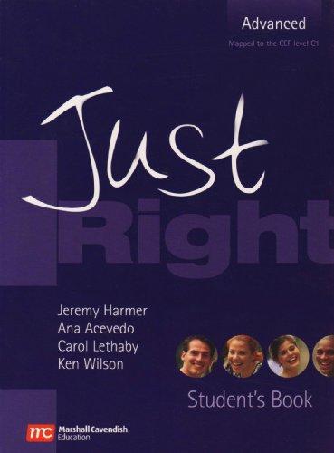 9780462098913: Just Right - Advanced (Just Right (British English))