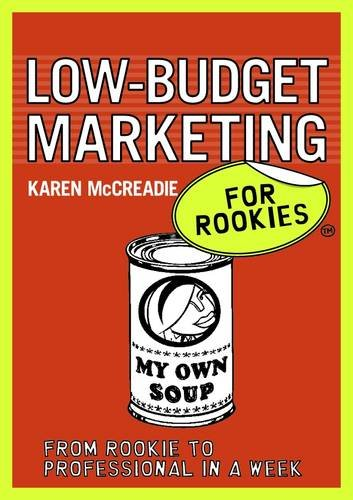 9780462099576: Low-budget Marketing for Rookies