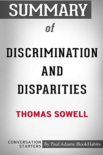9780464923336: Bookhabits, P: Summary of Discrimination and Disparities by: Conversation Starters