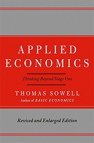 9780465003457: Applied Economics: Thinking Beyond Stage One