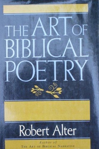 9780465004300: Art Of Biblical Poetry