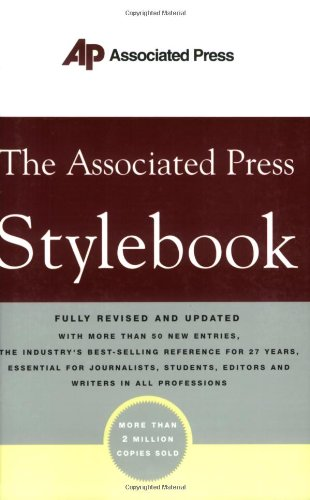 9780465004881: The Associated Press Stylebook
