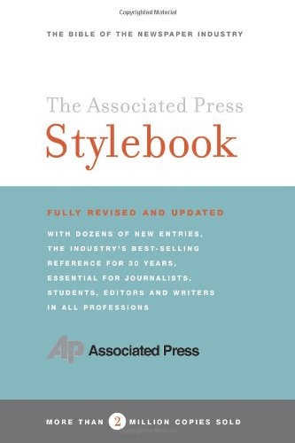9780465004898: The Associated Press Stylebook and Briefing on Media Law