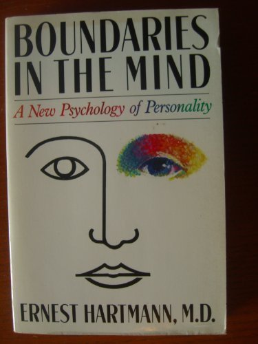 9780465007394: Boundaries in the Mind: A New Psychology of Personality