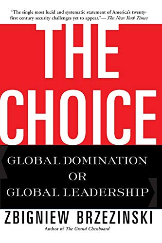 9780465008018: The Choice: Global Domination or Global Leadership