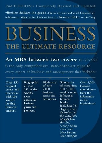 9780465008308: Business, Second Edition: The Ultimate Resource (Business : the Ultimate Resource)