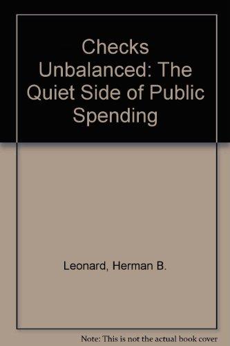 Checks Unbalanced: Herman B. Leonard