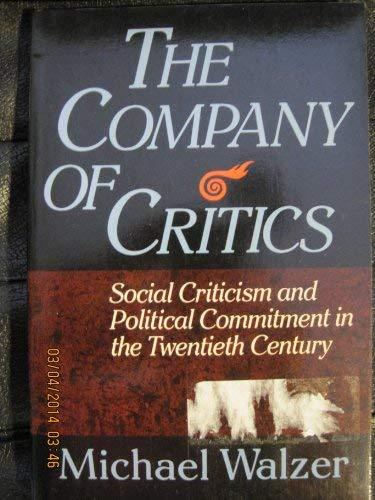 9780465013302: The Company Of Critics