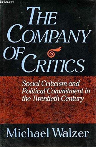 9780465013319: Company Of Critics