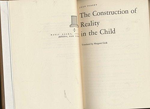 9780465014071: Construction Reality Child