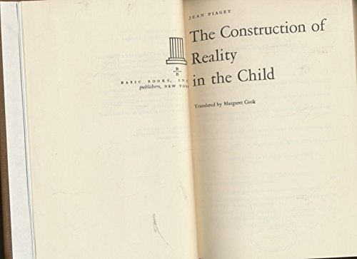 9780465014071: Construction Reality Child