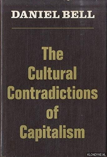 9780465015269: The Cultural Contradictions of Capitalism