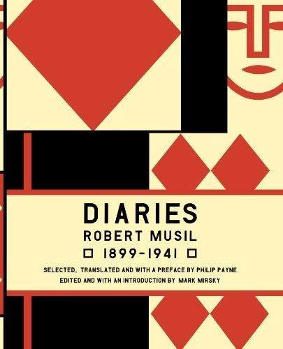 9780465016518: Musil Diaries: Robert Musil, 1899-1941