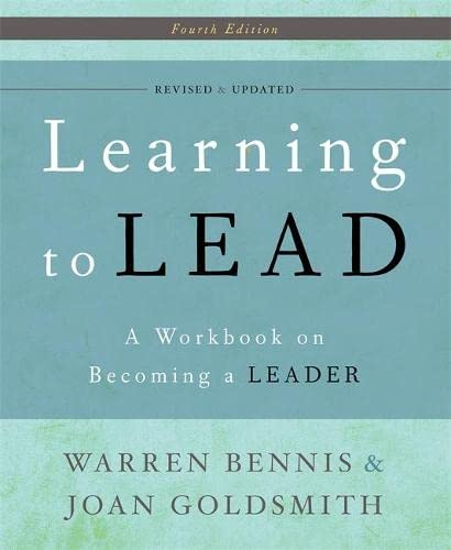 9780465018864: Learning to Lead: A Workbook on Becoming a Leader
