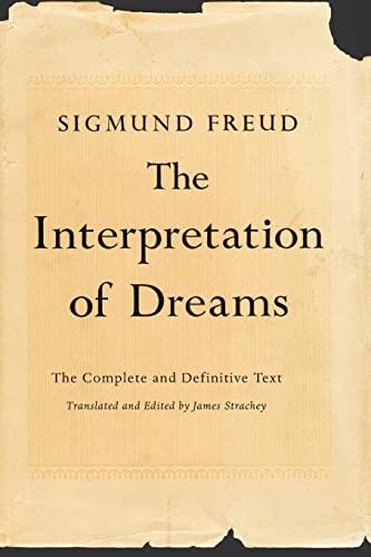 9780465019779: The Interpretation of Dreams