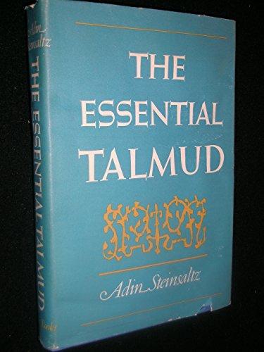 9780465020607: The Essential Talmud