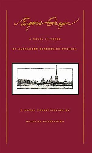9780465020942: Eugene Onegin: A Novel In Verse