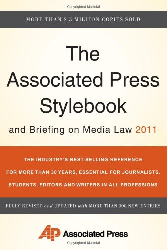 9780465021871: The Associated Press Stylebook and Briefing on Media Law 2011