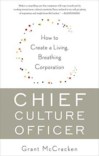 9780465022045: Chief Culture Officer: How to Create a Living, Breathing Corporation