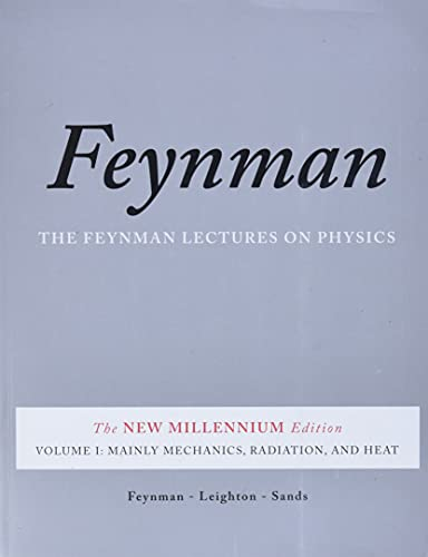 9780465024933: The Feynman Lectures on Physics: Mainly Mechanics, Radiation, and Heat v. 1: The New Millennium Edition: Mainly Mechanics, Radiation, and Heat