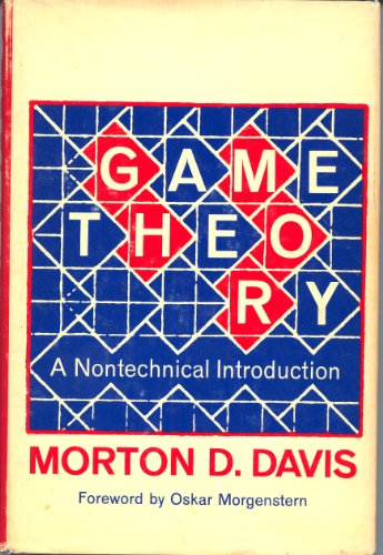 9780465026265: Game Theory: A Non-technical Introduction