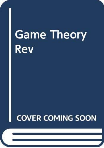 9780465026272: Game Theory Rev (Harper Colophon Books)