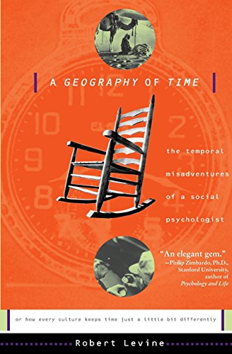 9780465026425: A Geography Of Time: On Tempo, Culture, And The Pace Of Life