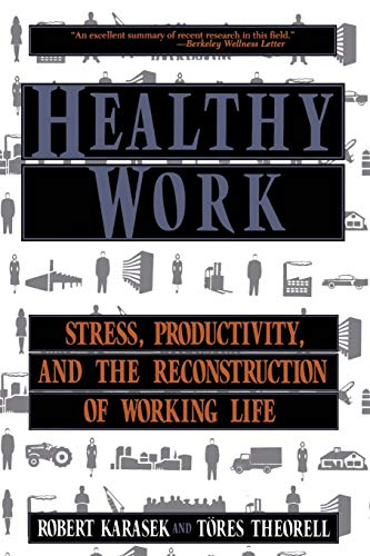 9780465028979: Healthy Work: Stress, Productivity, and the Reconstruction of Working Life